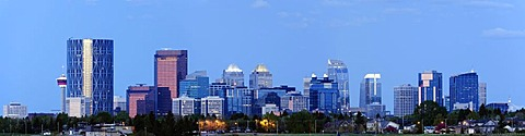 Panoramic view of city, Canada