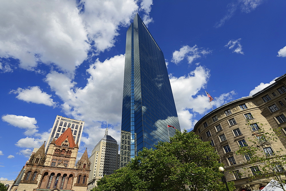 Office buildings of Copley Square, Boston, Massachusetts