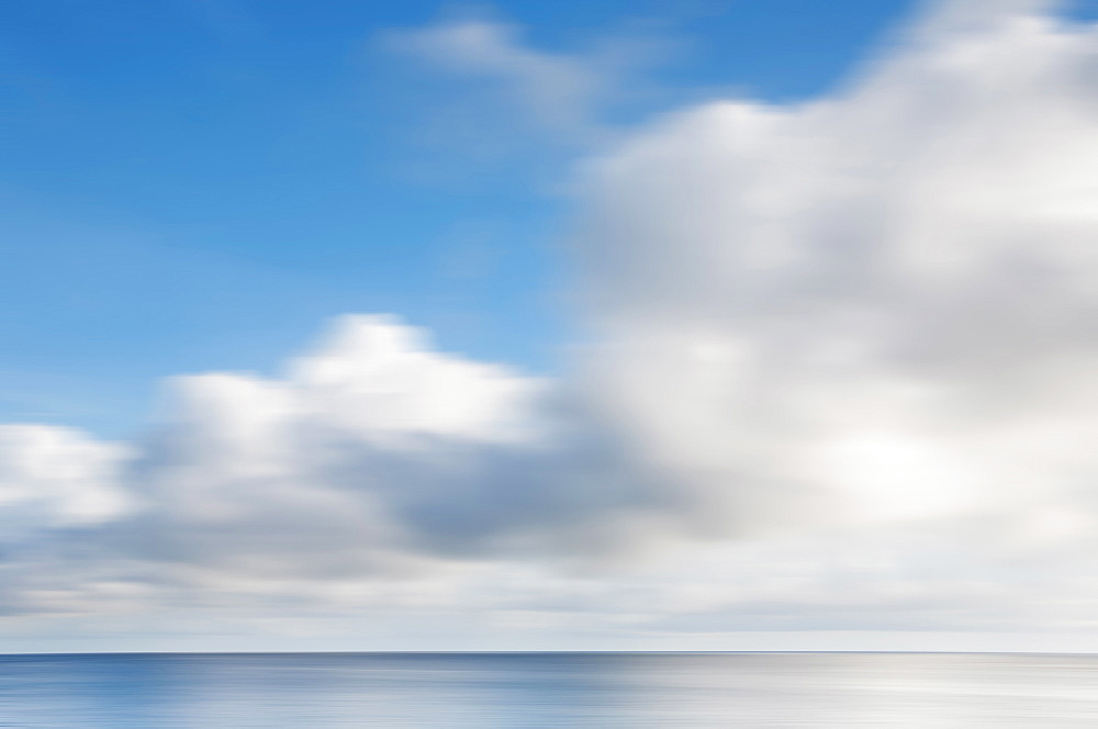 Scenic view of seascape, St. John, US Virgin Islands