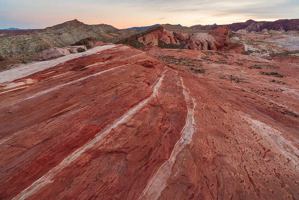 Rock formations at Valley of Fire State Park, USA, Nevada, Valley of Fire State Park