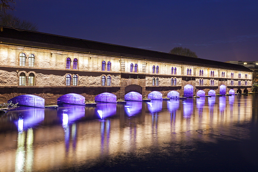 Covered bridge, France, Alsace, Strasbourg, Petite-France, Covered bridge - 1178-25154