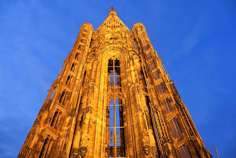 Notre Dame de Strasbourg, France, Alsace, Strasbourg, Strasbourg Cathedral