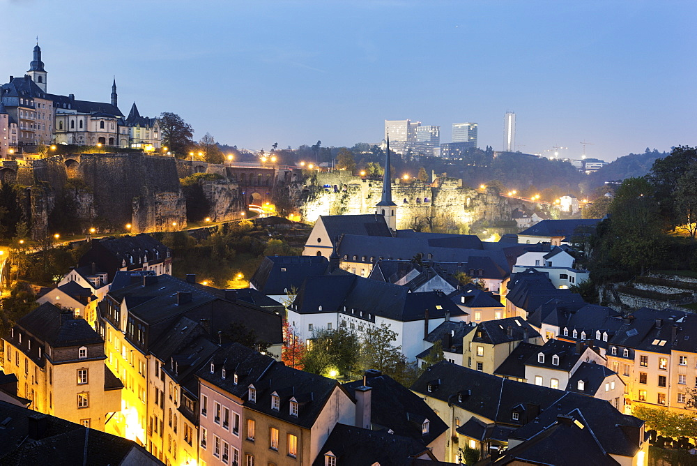 Neumunster Abbey and St Michael's Church, Luxembourg, Luxembourg City, Neumunster Abbey,St Michael's Church