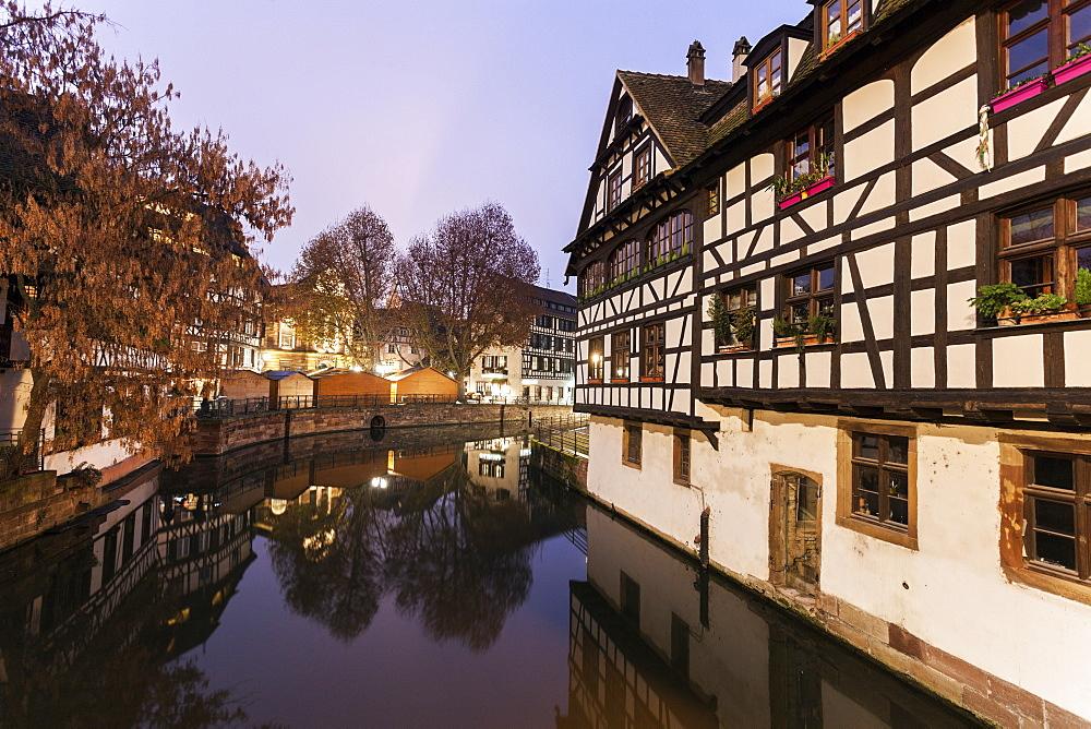 Petite-France architecture, France, Alsace, Strasbourg, Petite-France