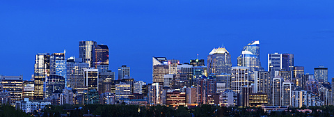 City skyline, Canada, Alberta, Calgary