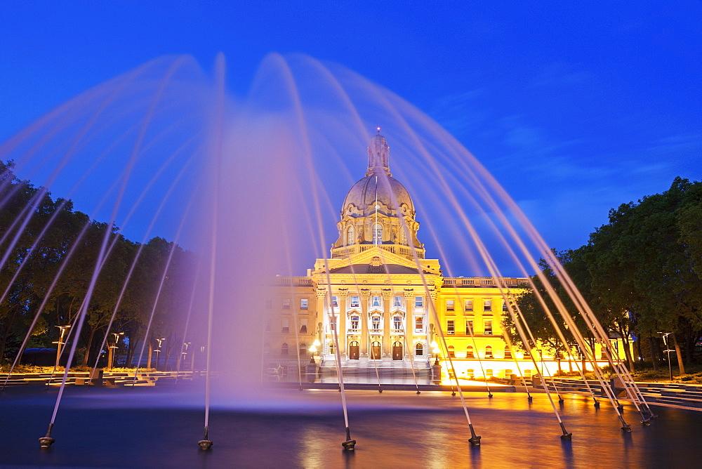 Alberta Legislative Building, Canada, Alberta, Edmonton, Alberta Legislative Building