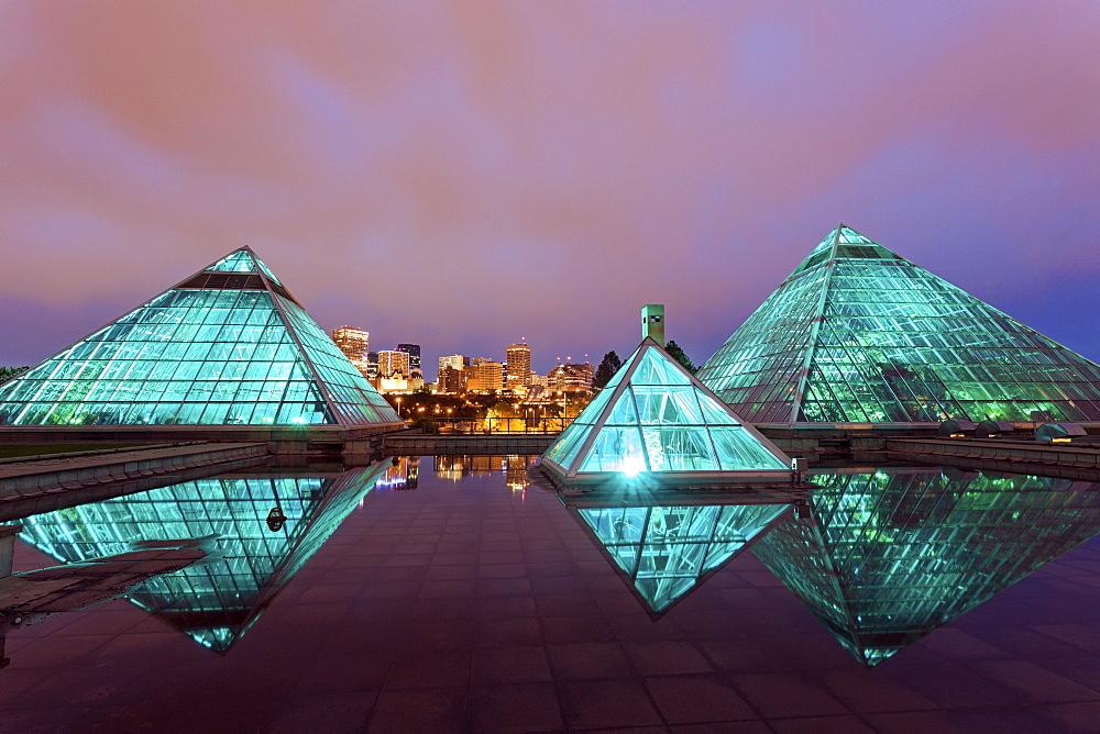 Muttart Conservatory, Canada, Alberta, Edmonton
