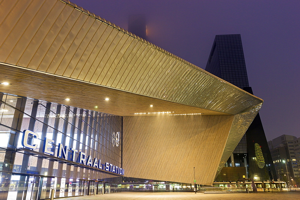 Rotterdam Central railway station, Netherlands, South Holland, Rotterdam, Rotterdam Centraal railway station