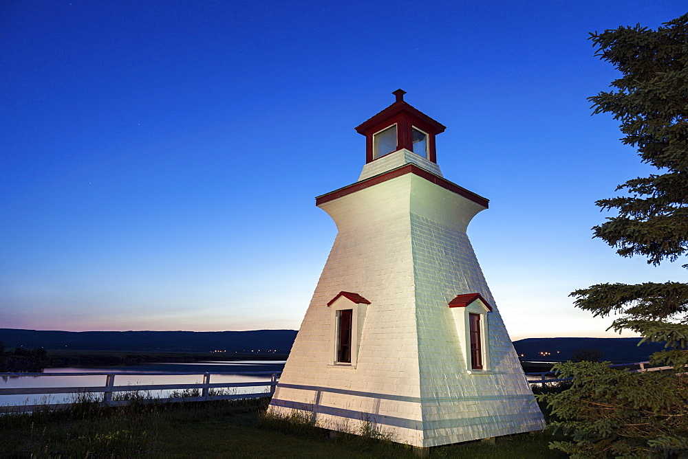 Anderson Hollow Lighthouse, Canada, New Brunswick, Anderson Hollow Lighthouse
