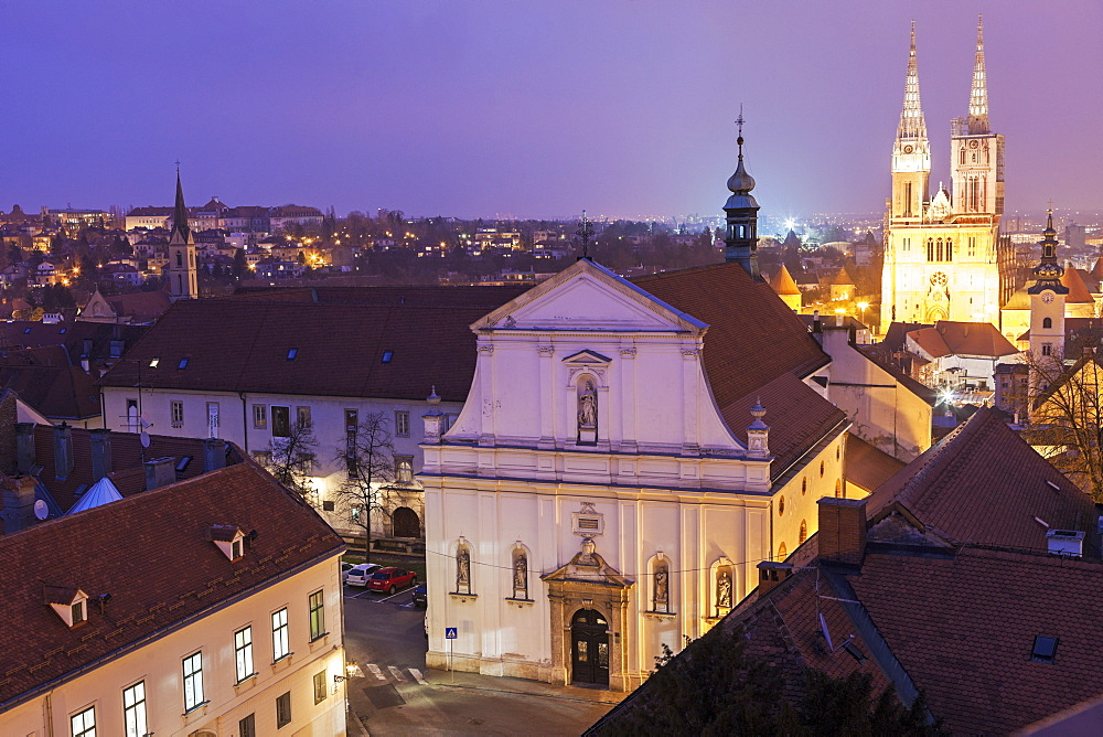 Zagreb Cathedral and St. Catherine Church, Croatia, Zagreb, Zagreb Cathedral, St. Catherine Church