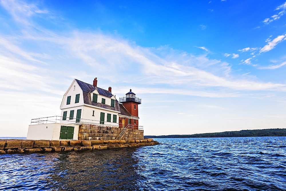 Rockland Breakwater Lighthouse, USA, Maine, Rockland