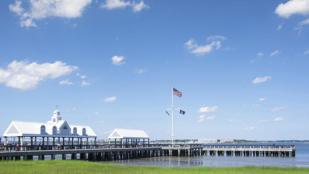 USA, South Carolina, Charleston, Waterfront Park