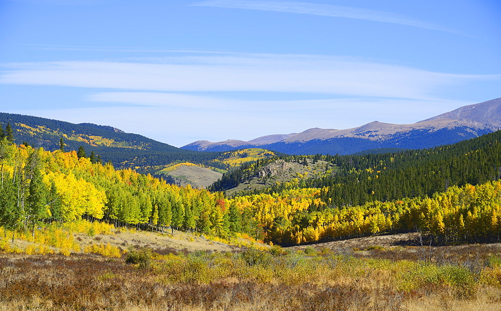 USA, Colorado, Scenic view of Kenosha Pass