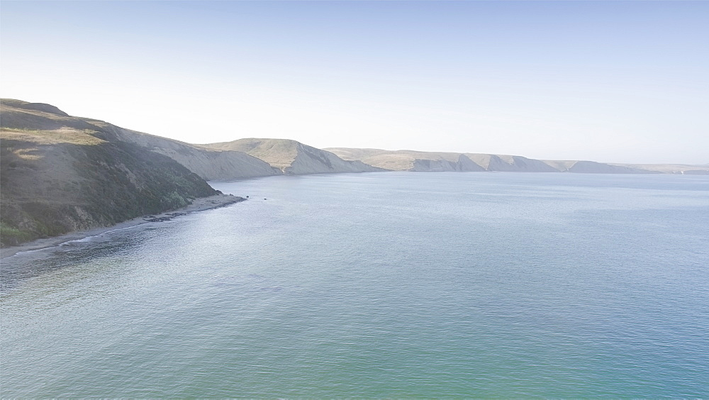 USA, California, Inverness, Point Reyes, Endless coastline