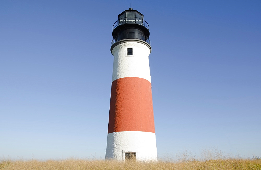 USA, Massachusetts, Nantucket Island, Sankaty Head Lighthouse - 1178-26174