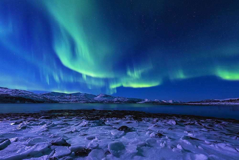 Aurora Borealis in Tromso, Norway