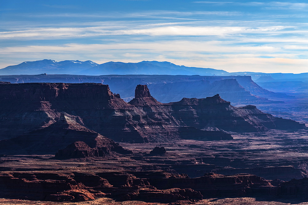 Landscape of Dead Horse Point State Park in Utah, USA