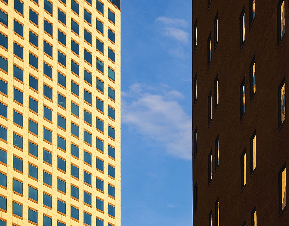 Office buildings in Denver, Colorado, USA
