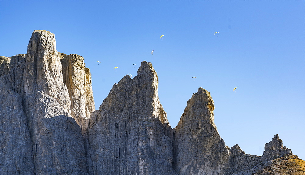 Mountain in the Dolomites, South Tyrol, Italy