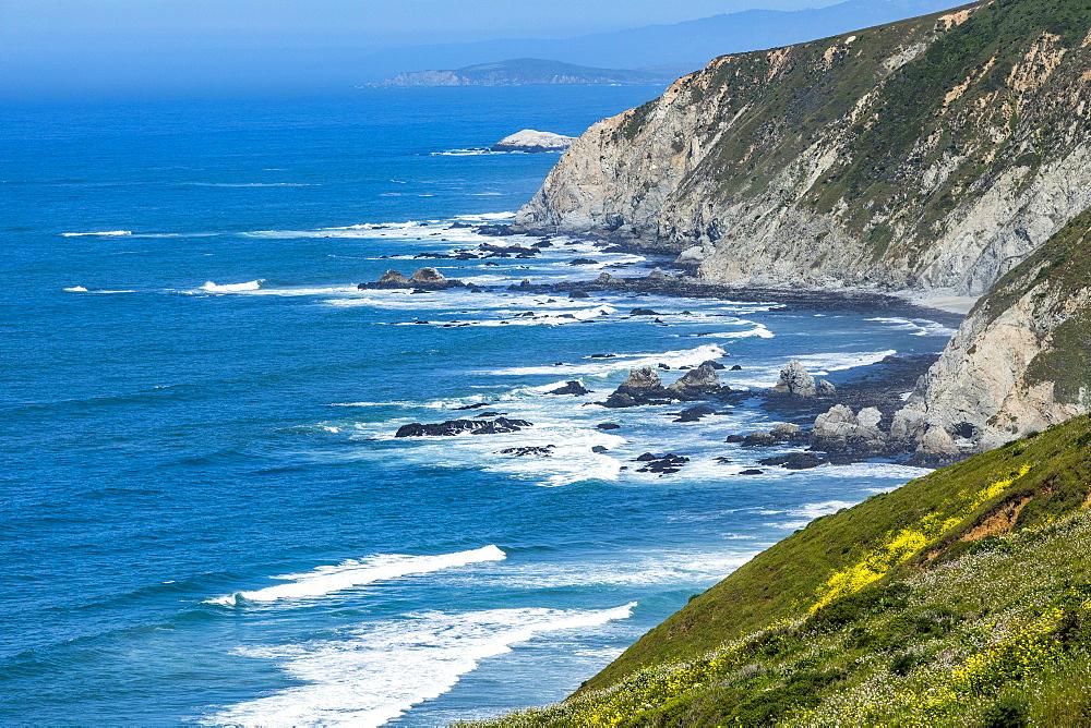 Coastline in Tomales, San Francisco, USA