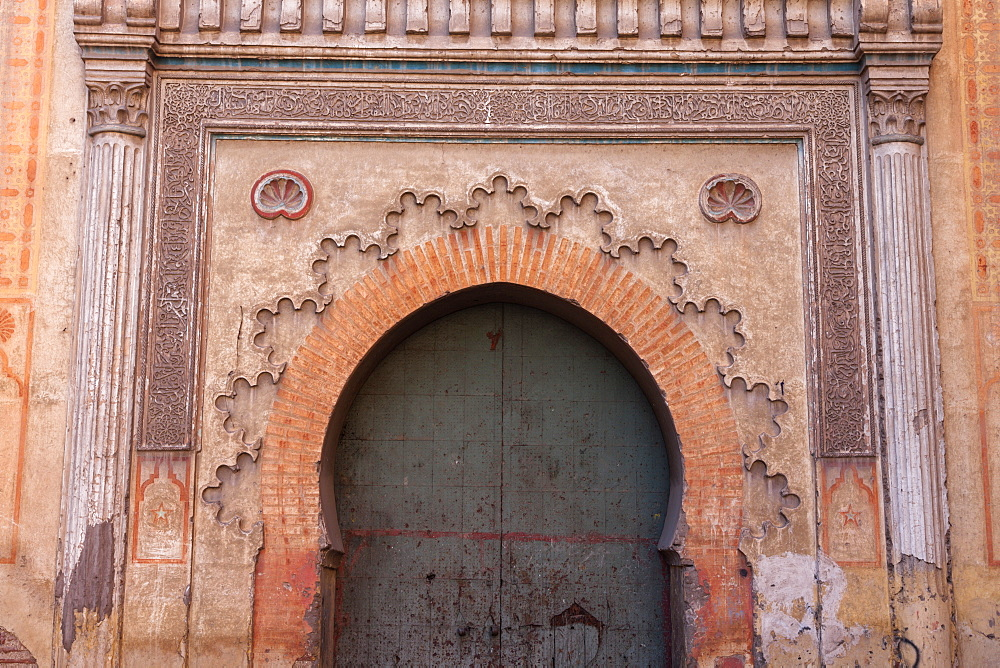 Arched gate in Marrakesh, Morocco