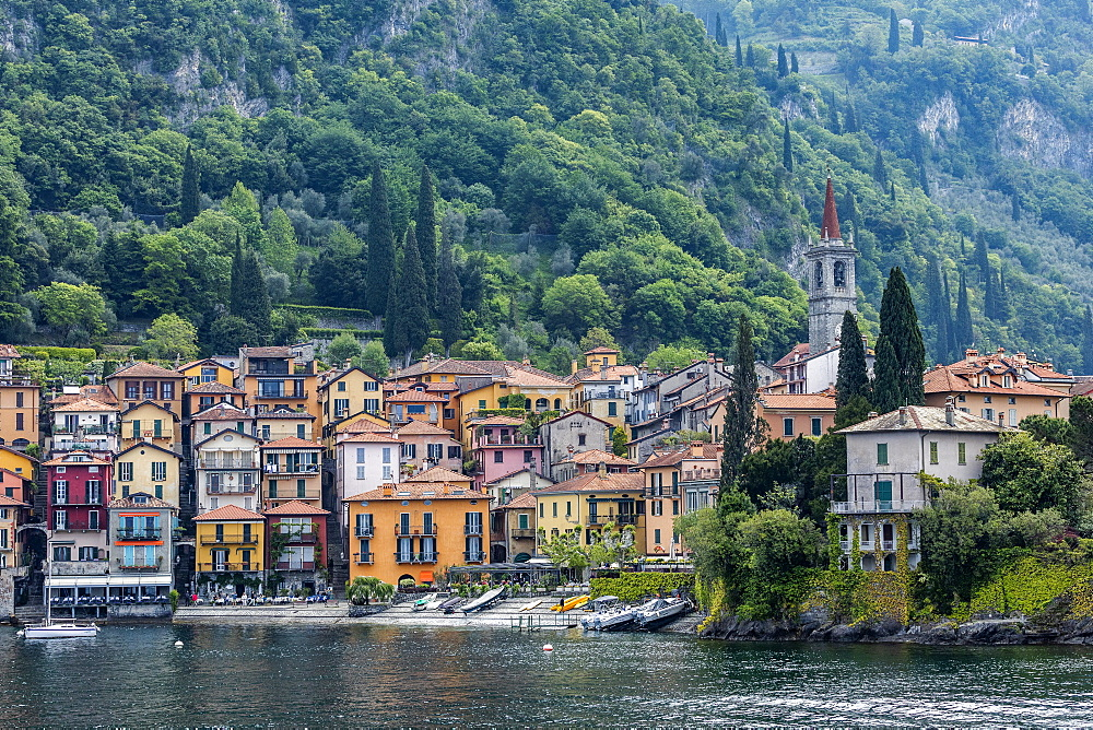 Town of Varenna by Lake Como, Italy