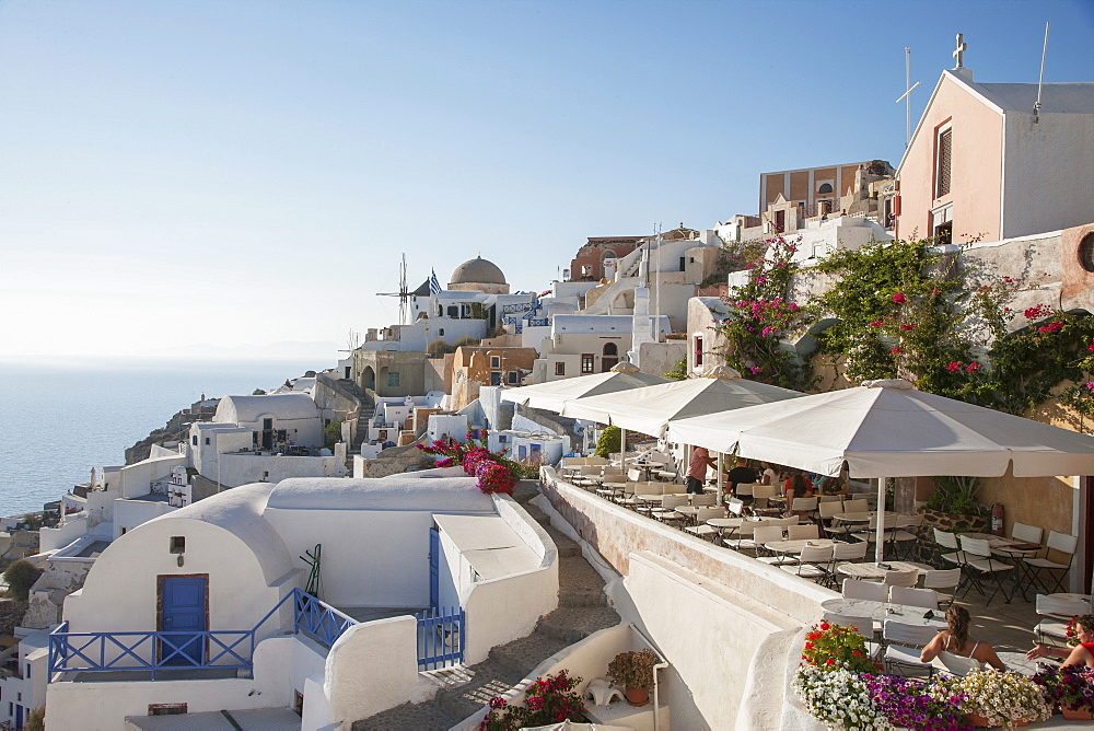 Townscape of Santorini, Cyclades Islands, Greece