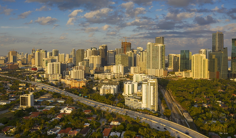 Skyline of Miami, Florida, United States of America