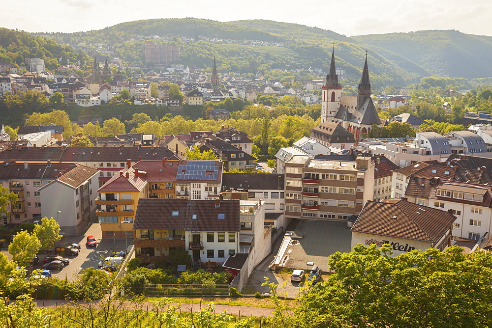 Townscape of Bingen, Germany