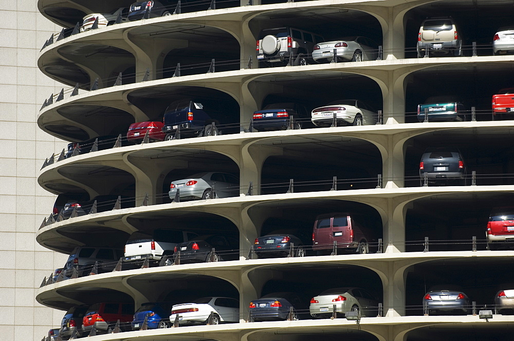 Parking garage Marina City Chicago Illinois USA