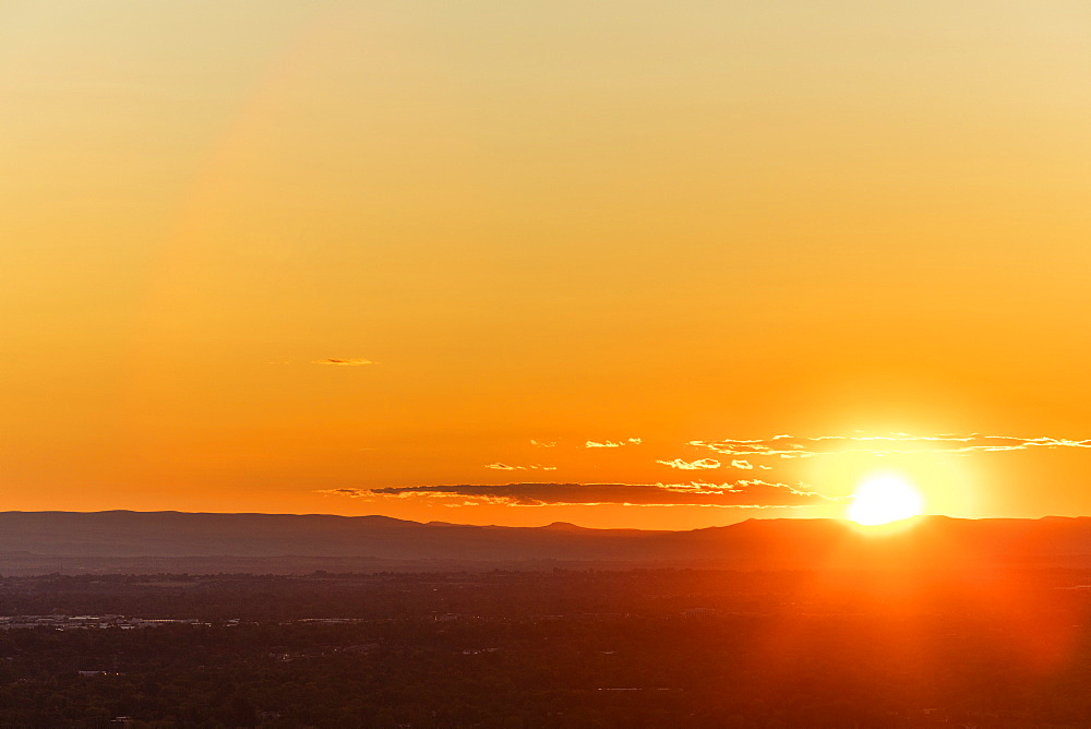 Sunset over Treasure Valley
