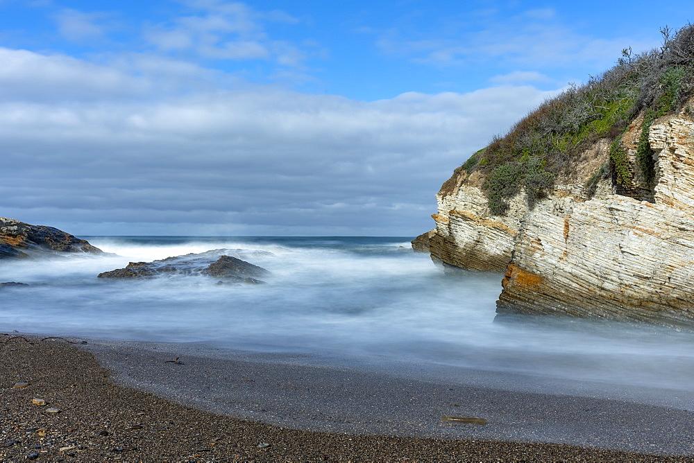 USA, California, San Luis Obispo, Sea coast