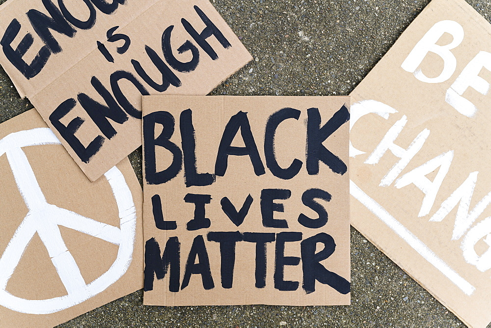 Black Lives Matter protest signs - 1178-30026