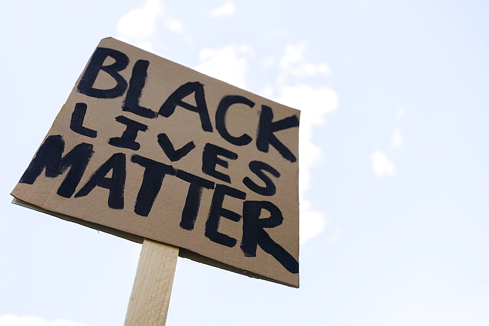Black Lives Matter protest sign - 1178-30027