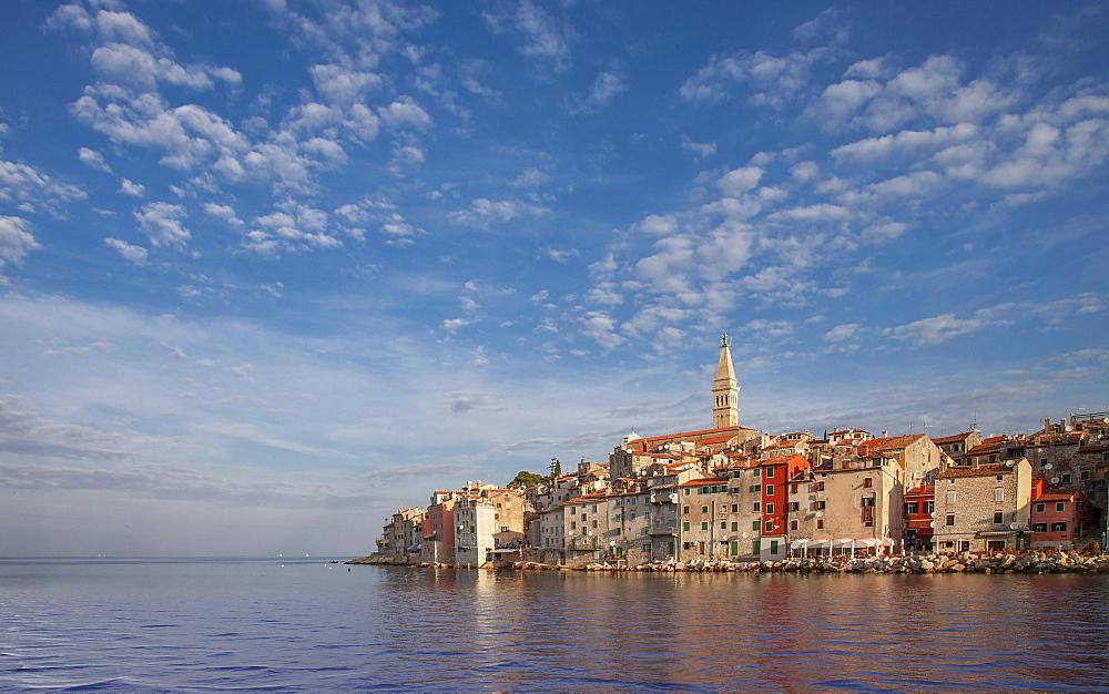 Croatia, Istria, Rovinj, Village on waterfront