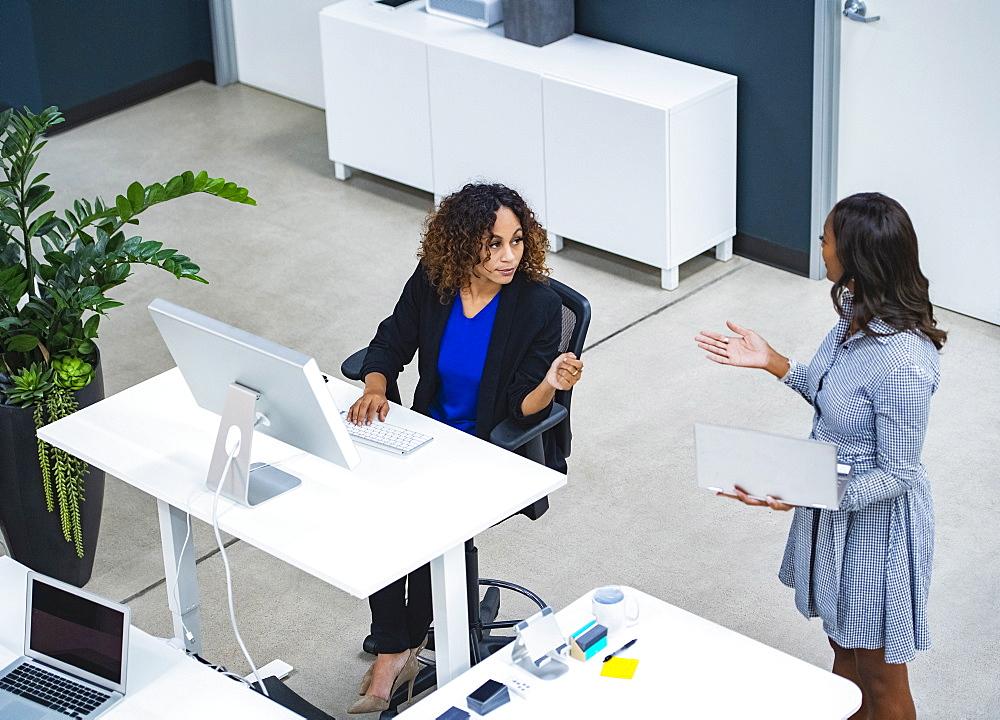 Two women working in office - 1178-30652