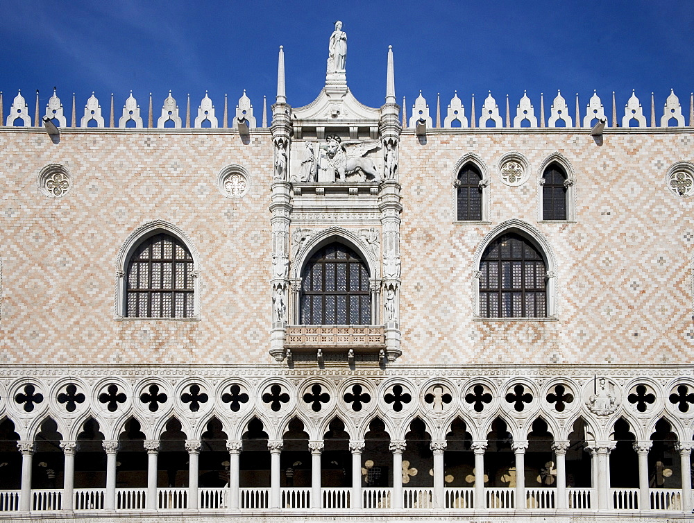 Doges' Palace on St Mark's Square/Piazza San Marco Venice Italy