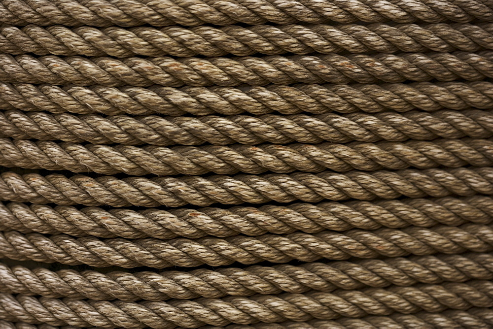 Still life closeup of rope