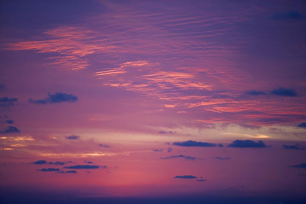 Beautifully lit sky