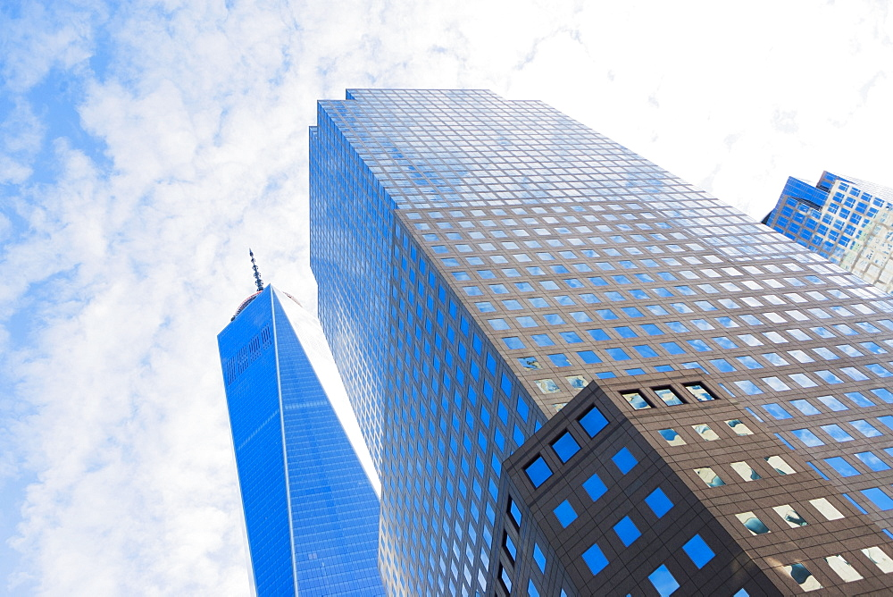 Office buildings, New York City, USA