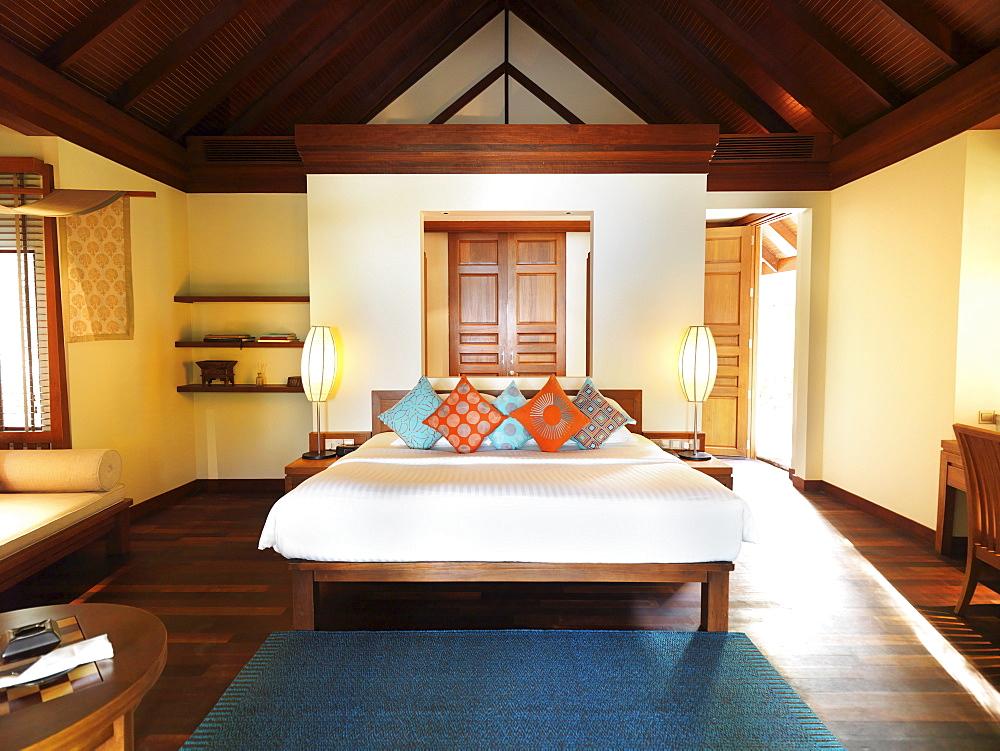 Bedroom in spa resort