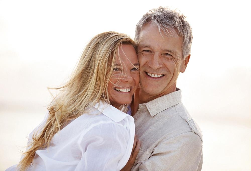 Portrait of happy mature couple