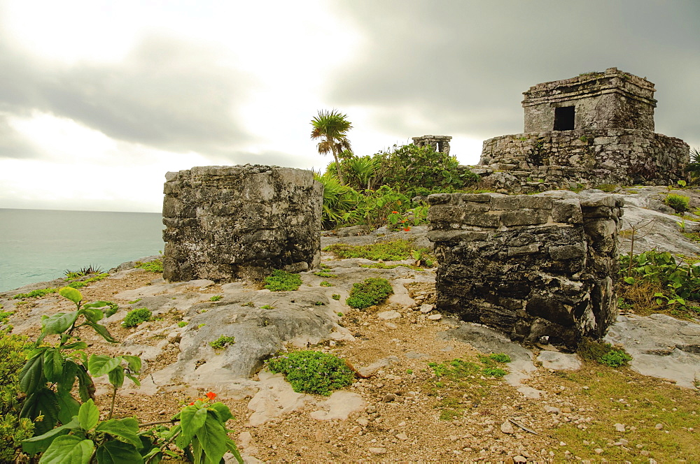 Mexico, Tulum, ancient ruins
