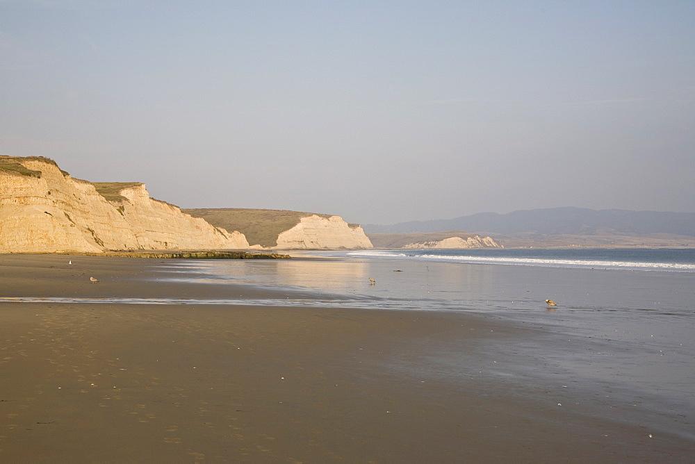 Cliffs by sea