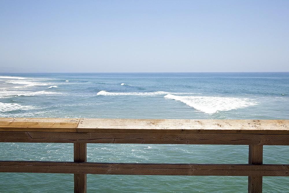 Boardwalk by sea