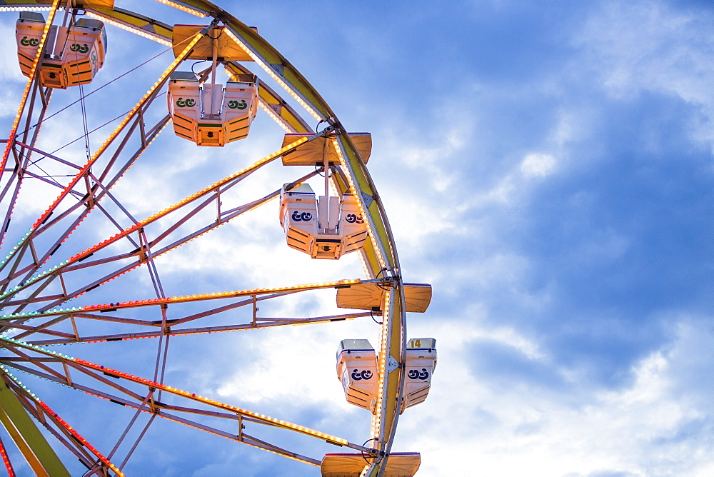 Ferris wheel in amusement park, USA, Utah, Salt Lake City