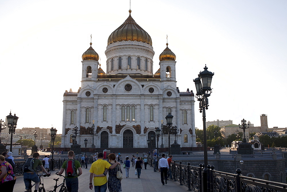 Russia, Moscow, Cathedral of Christ the Savior