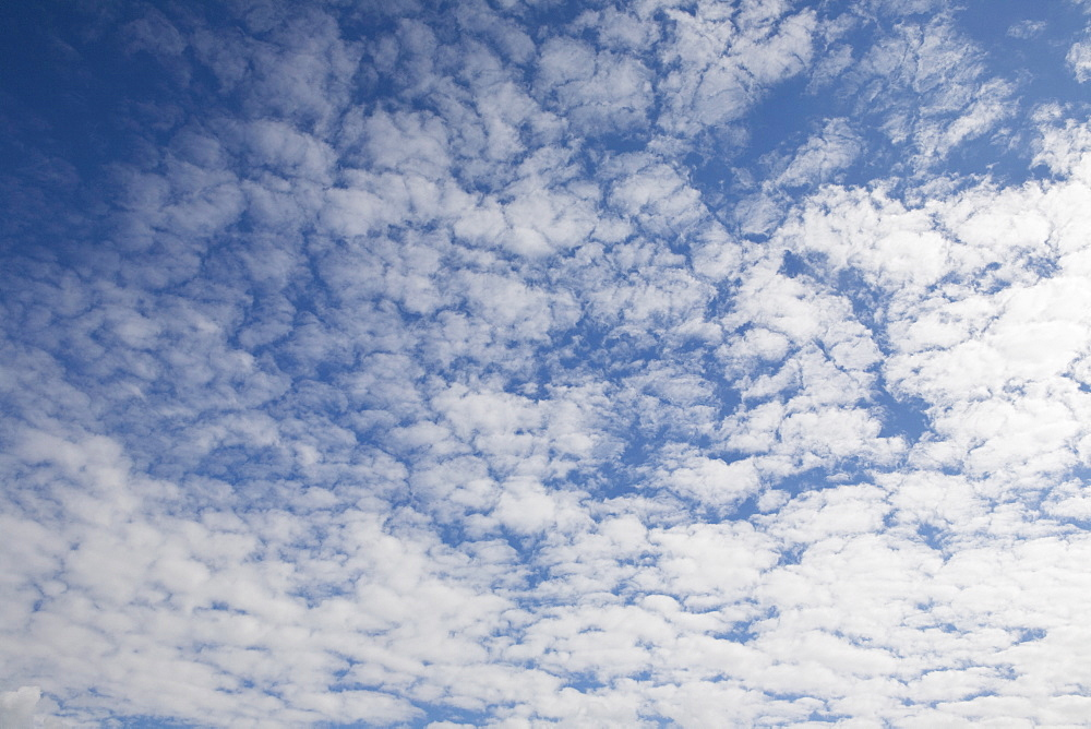 Clouds and blue sky