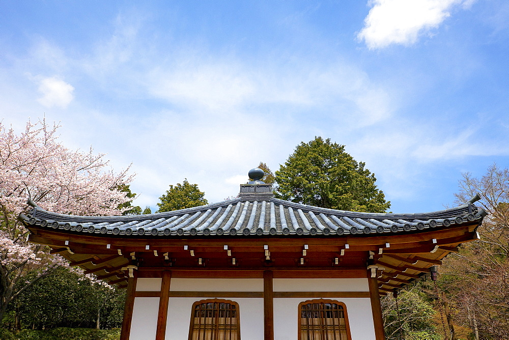 Historical Japanese meditation temple