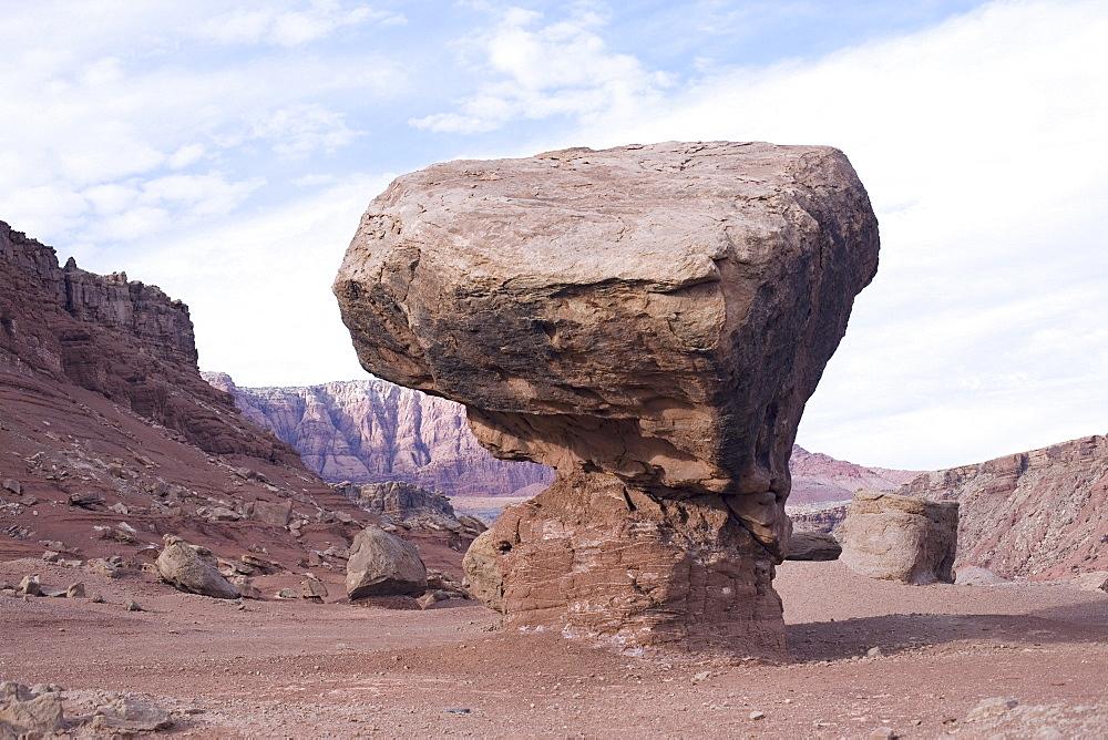 Rock formation in Arizona desert